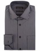 Men's Double TWO Two Colour Striped Formal Sthirt