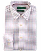 Men's Double TWO Multi Check 100 Brushed Cotton