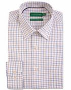 Men's Double TWO Multi Check Brushed Cotton Formal