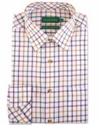 Men's Double TWO Multi Check Warm Handle Cotton