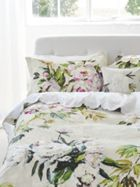 Designers Guild Floreale grande embroidered flat sheet