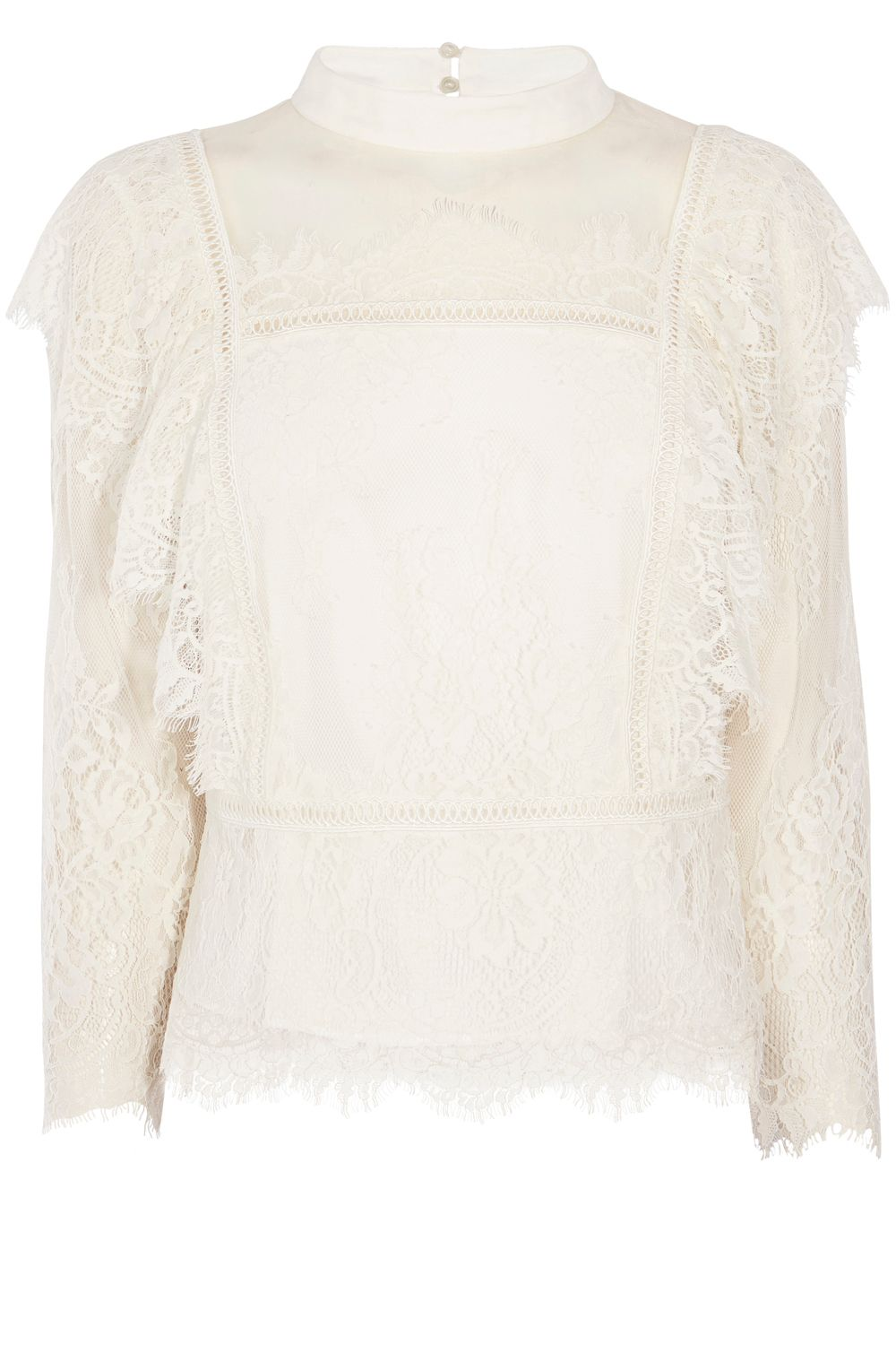Victorian Blouses, Tops, Shirts, Vests Coast Victoriana Lace Blouse White £79.00 AT vintagedancer.com