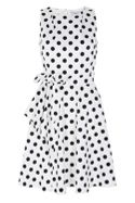 Coast Olivia Spot Cotton Dress