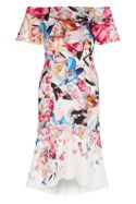 Coast Jackie Print Scuba Shift Dress