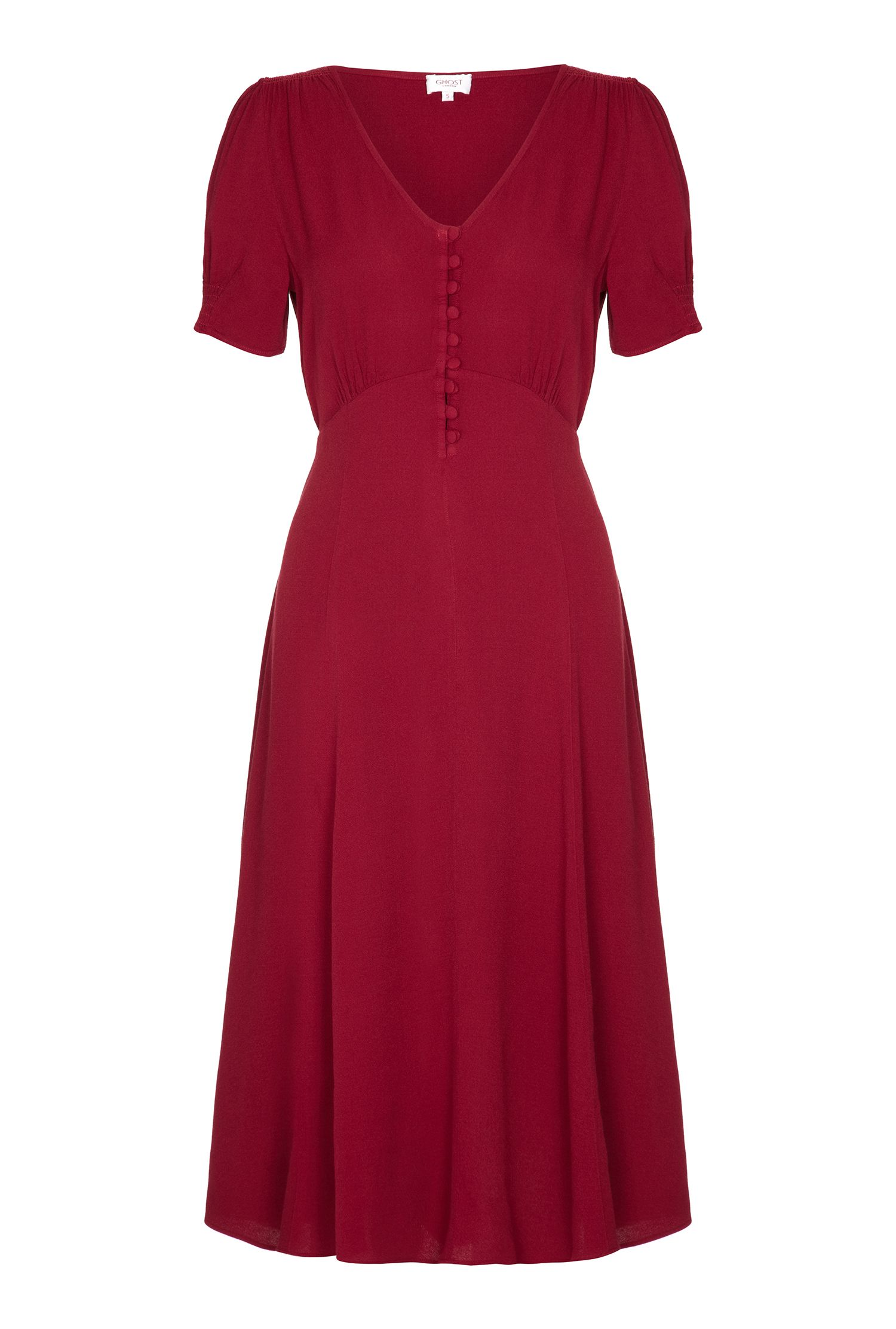 1940s Style Dresses | 40s Dress, Swing Dress Ghost Keira Dress £95.00 AT vintagedancer.com