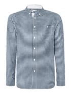 Men's Canterbury Gingham Long Sleeve Button Down Shirt