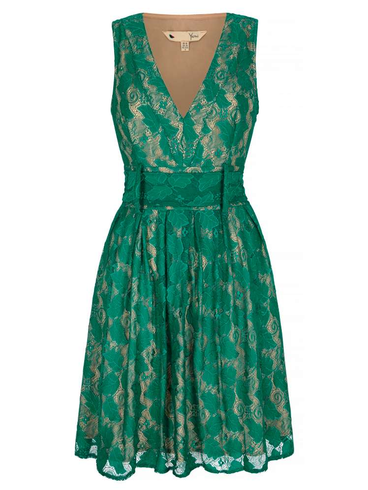 Yumi Vintage Lace Dress - House of Fraser