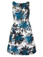 Jacquard Floral Printed Dress