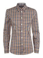 Aquascutum Bowten 2 Club Check Shirt