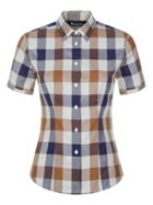 Aquascutum Jade Short Sleeve Club Check Shirt