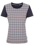 Aquascutum Marlin Club Check Front Tee