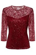 Fenn Wright Manson Elaoise Top Burgandy