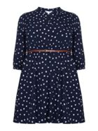 Cat Print Tunic Belt Dress