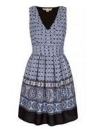 Mosaic Print Day Dress