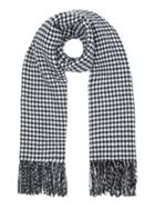 Dogtooth And Stripe Scarf
