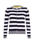 Stripe Knit Cardigan