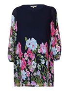 Bold Floral Tunic Dress