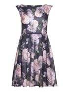 Mela London Antique Floral Skater Dress