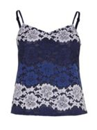 Yumi Gradient Lace Vest Top
