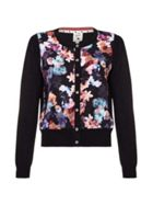 Floral Front Cardigan