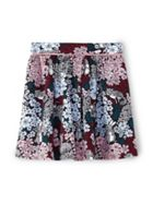 Girls Floral Woodland Skirt