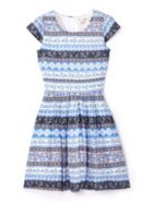 Girls Printed Pattern Dress