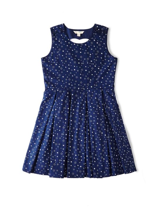 Yumi Girls Star Pattern Dress