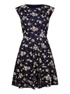 Mela London Spotted Floral Print Dress