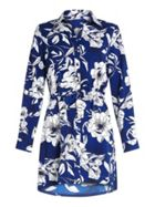 Mela London Flower Print Shirt Dress
