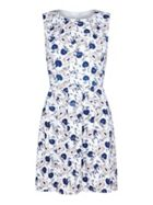 Mela London Tie Back Floral Print Dress