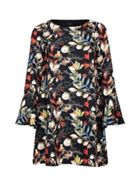 Mela London Floral Print Tunic Dress