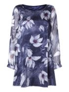 Mela London Abstract Floral Tunic Dress