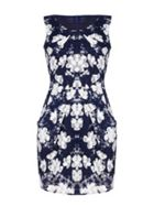 Mela London Lace Printed Dress