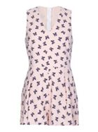 Mela London Butterfly Patterned Playsuit