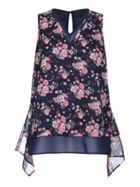 Mela London Rose Print Top