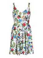 Mela London Botanical Scuba Dress