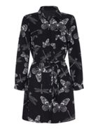 Mela London Butterfly Print Shirt Dress