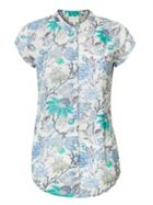 East Lurex Marianne Print Blouse