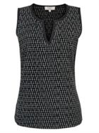 East Ikat Vest Top