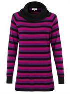 Cowl Stripe Jumper