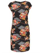 Silk Shanghai Print Dress