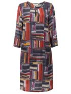 East Marcelle Check Shift Dress