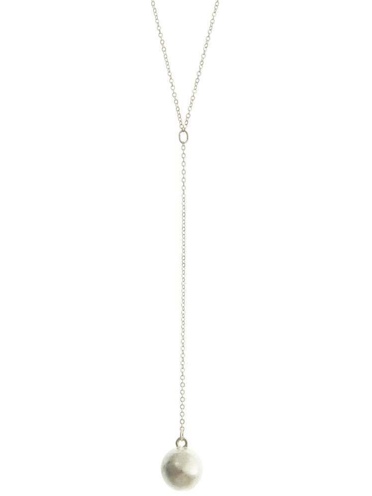 Mint velvet silver ball pendant necklace house of fraser selectedcolor aloadofball Image collections