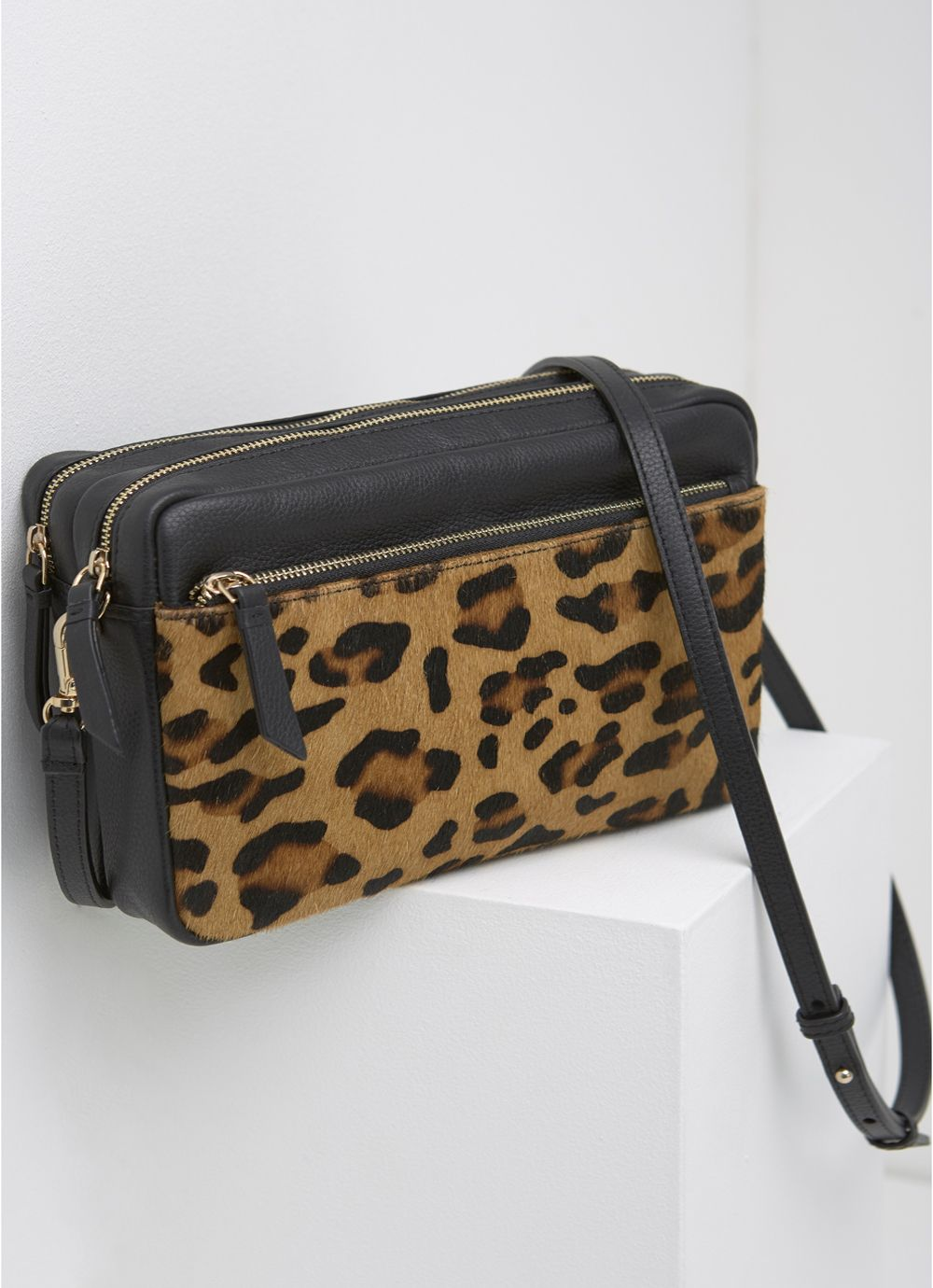 Mint Velvet Poppy Leopard Print Camera Bag ...