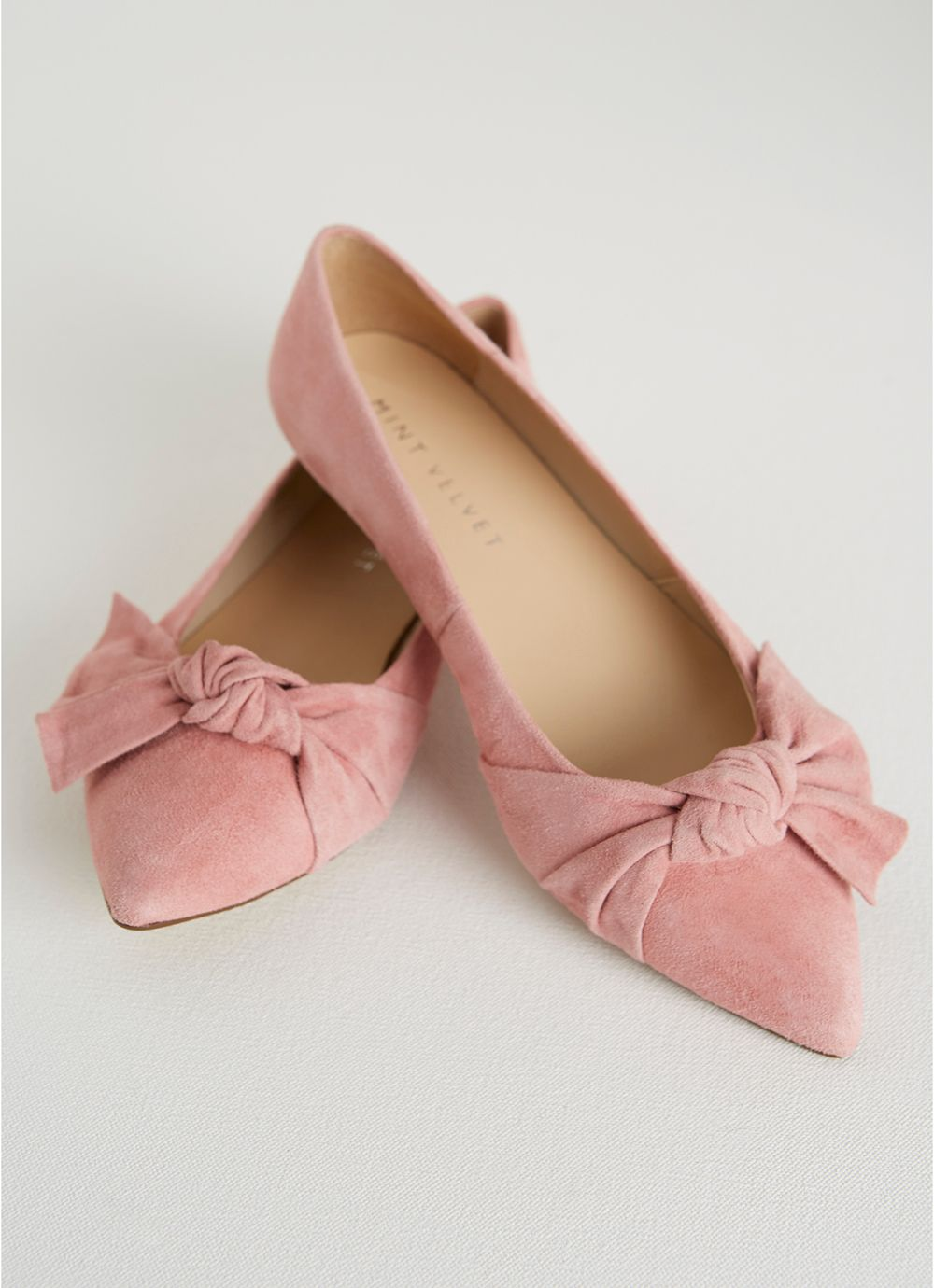 Casey Bow Pointed Pump by Mint Velvet