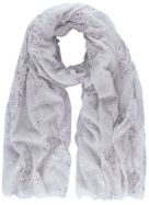 Mint Velvet Claudia Chalk Printed Scarf