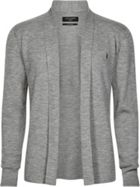 Men's AllSaints Mode Merino Open Cardigan