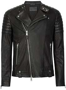 f429fb7226 AllSaints Men s Leather Coats and Jackets at House of Fraser