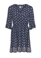 Fat Face Abigail Woodblock Wrap Dress