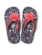 Fat Face Floral Fish Flip Flops